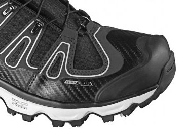 Salomon Synapse Winter CS WP negro/negro mujeres